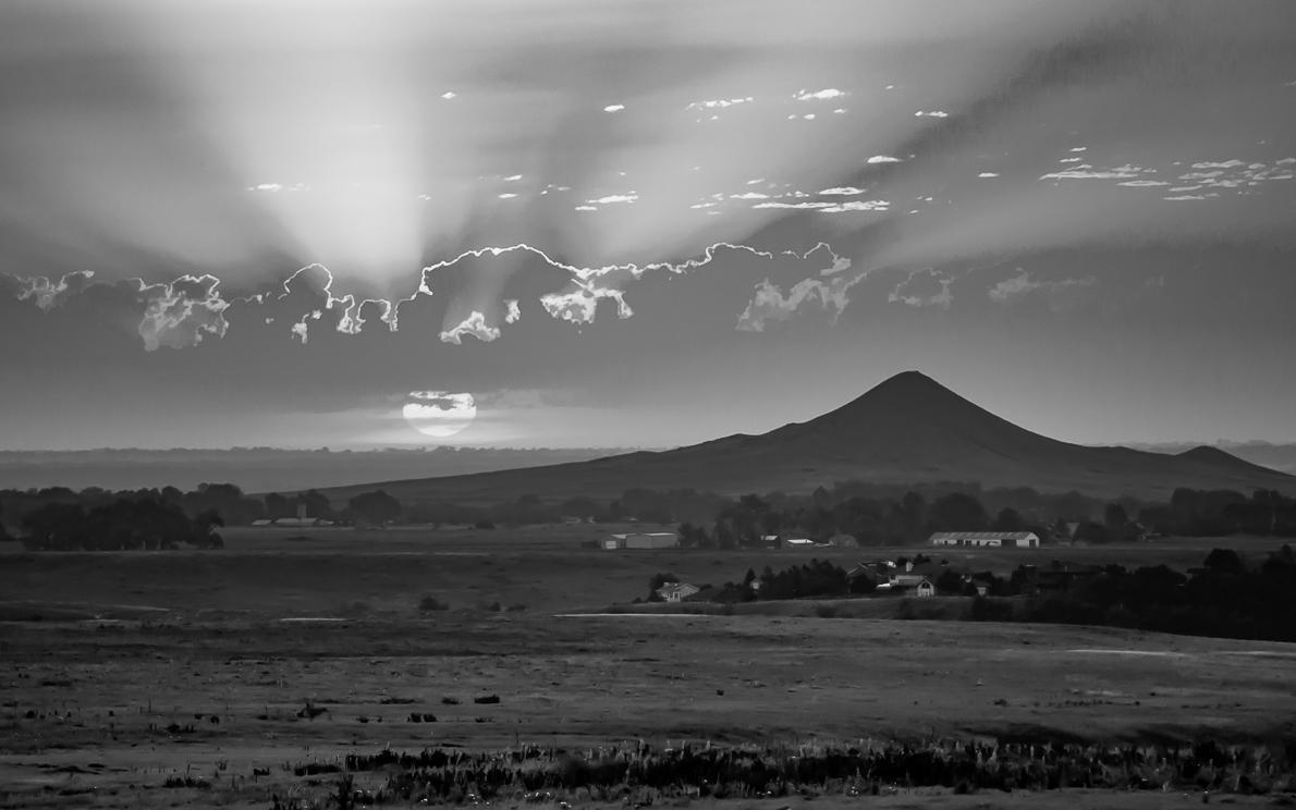 Haystack Mountain Sunrise