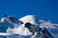 Parapente Over Mont Blanc