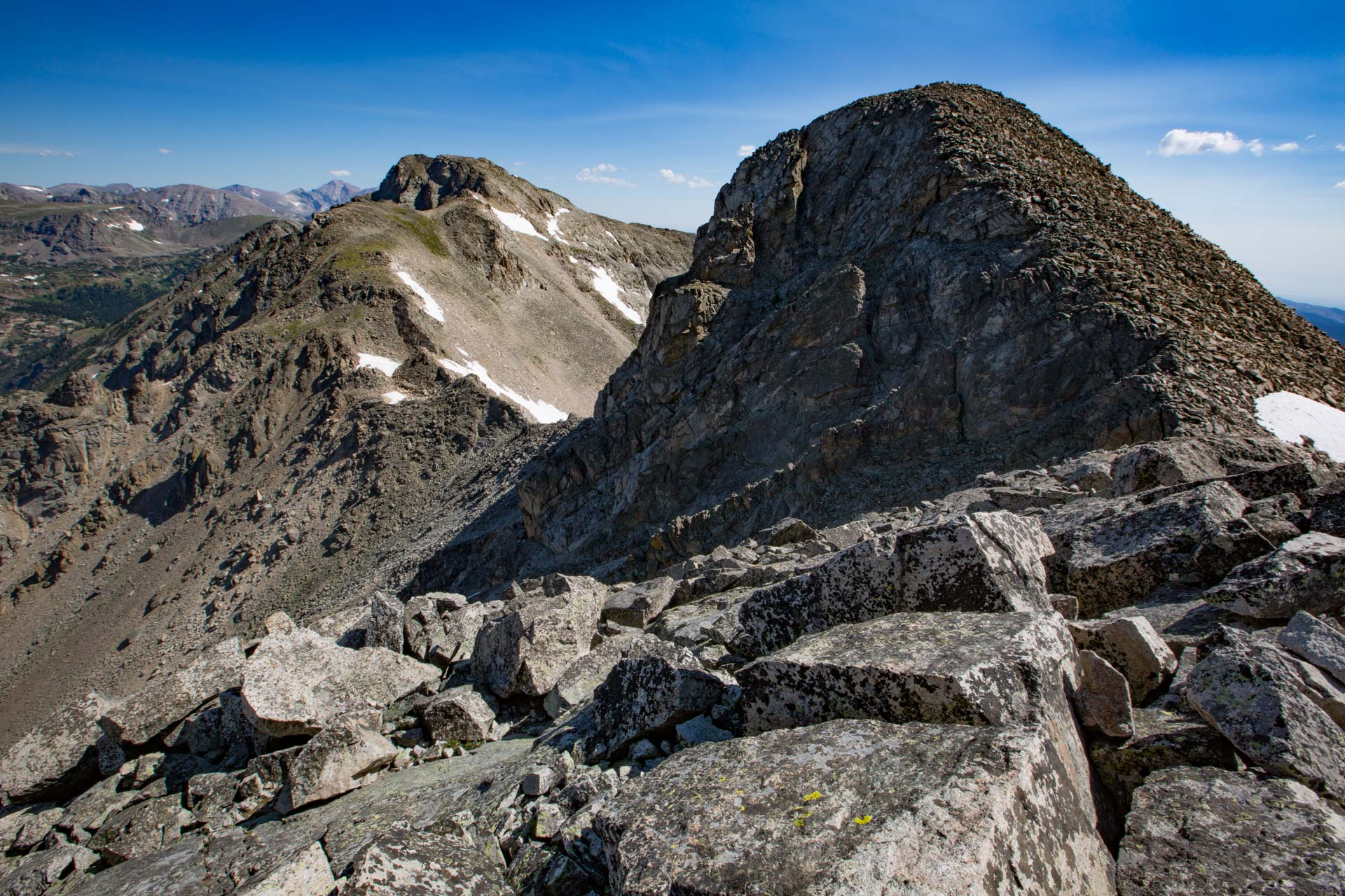 Paiute Peak and Mount Toll