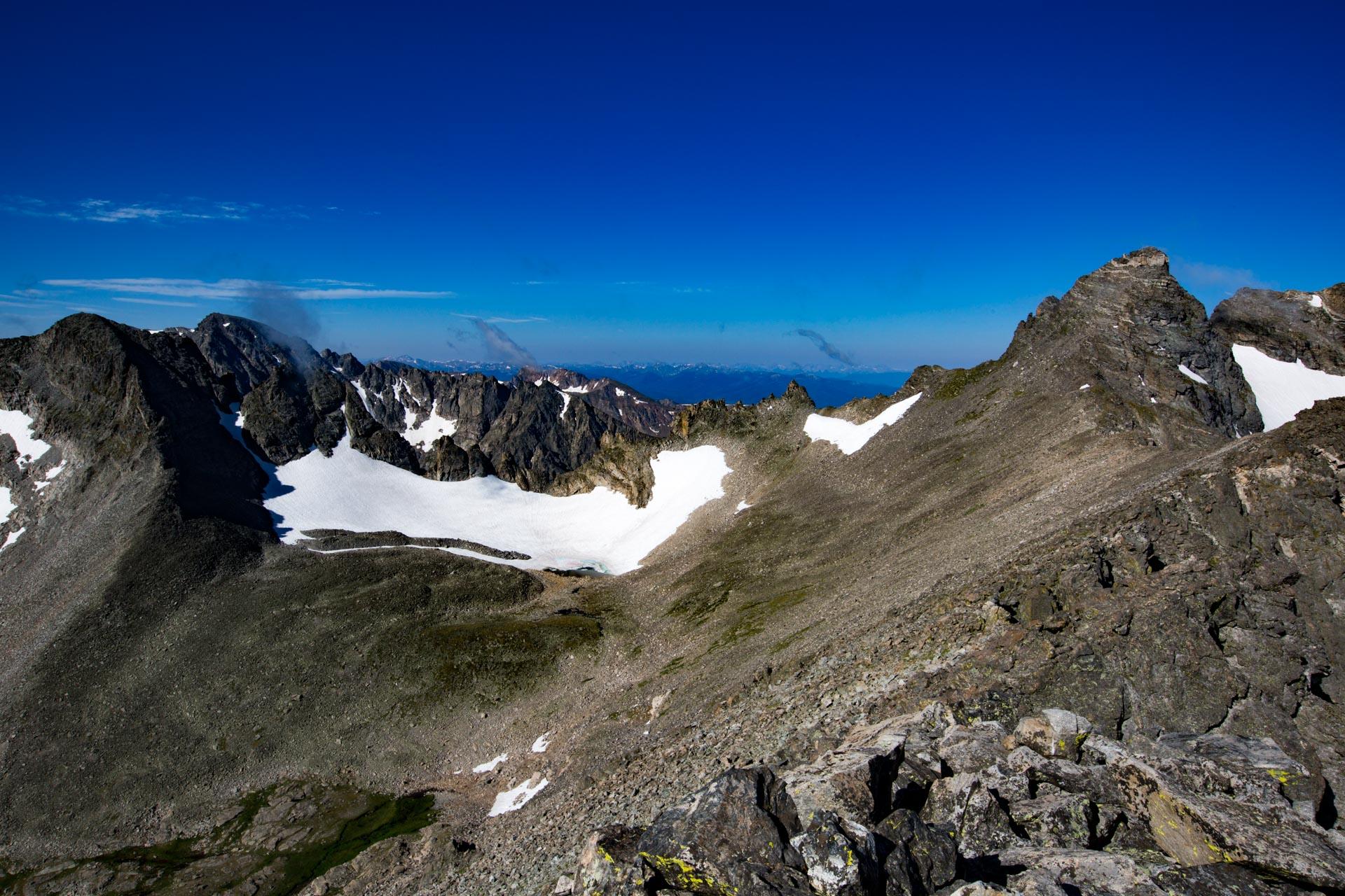 Arikaree Glacier and Navajo Peak