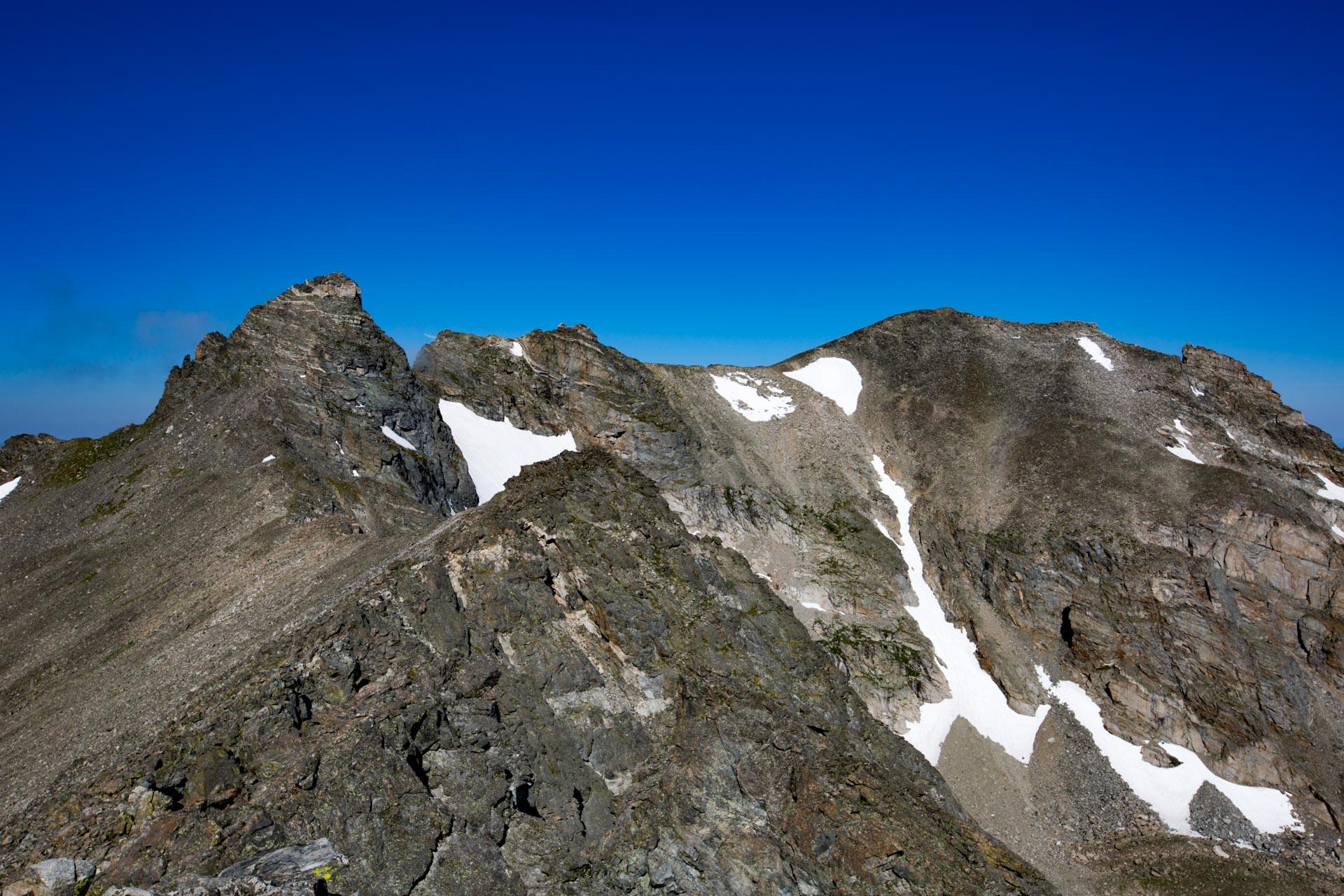 Navajo and Apache Peaks
