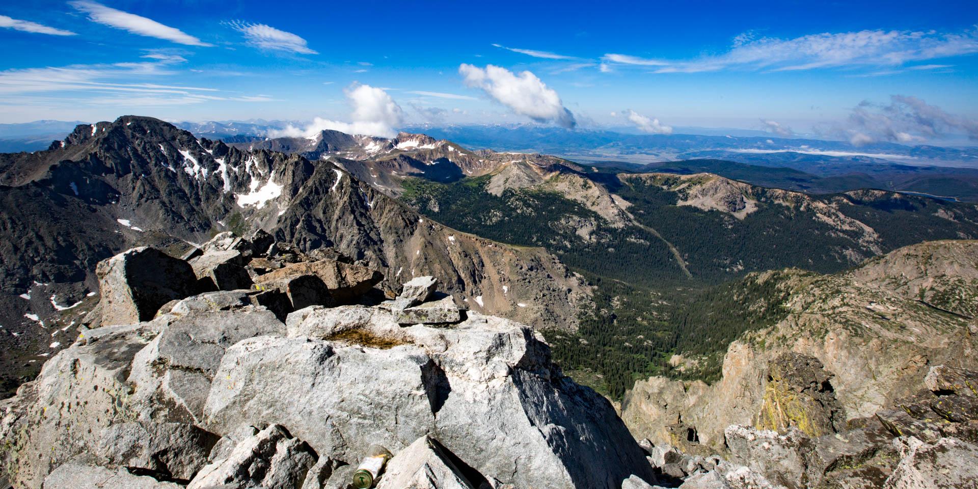 View from Navajo Peak