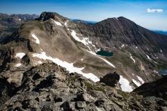 Paiute Peak and Mount Audubon