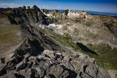 Navajo Peak, Apache Peak, Shoshoni Peak
