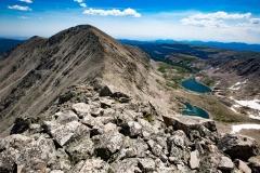 Mount Audubon from Paiute Peak