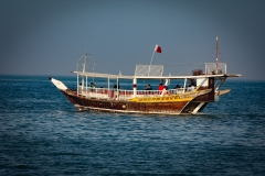 Dhow on Doha Bay