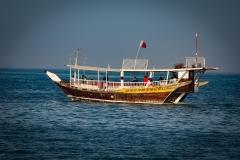 Dhow on Doha Bay