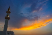 Minaret at Sunset